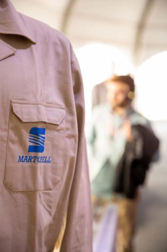 El uniforme de trabajo de SEAT de 1993.